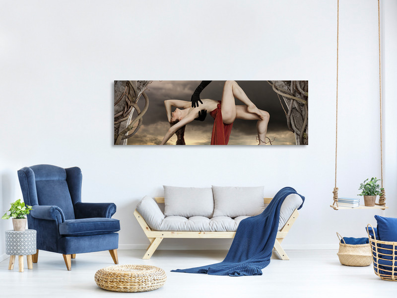Panoramic Canvas Print Mendacium