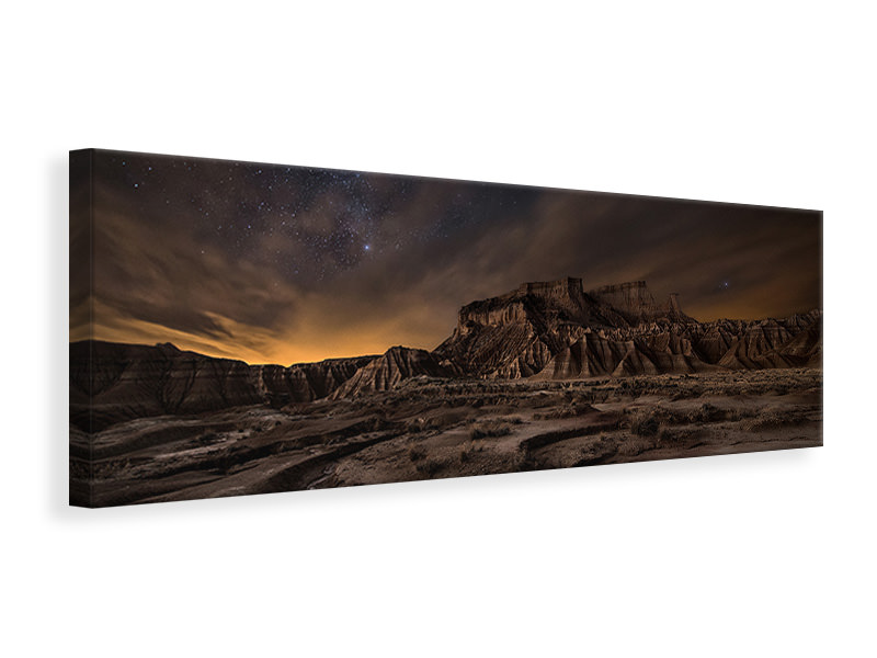 Tableau sur Toile Panoramique Night Wind