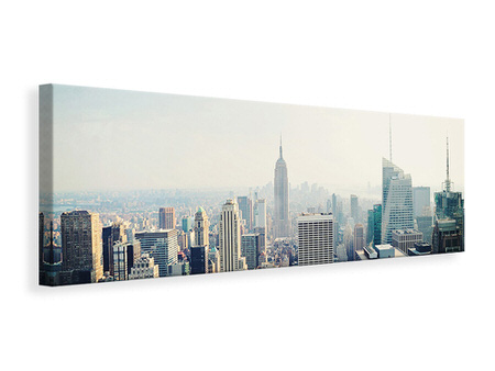 Panoramic Canvas Print NYC