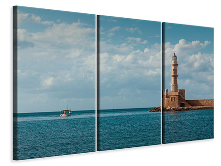 3 Piece Canvas Print Old lighthouse