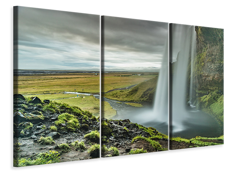 3 Piece Canvas Print Dream scenery
