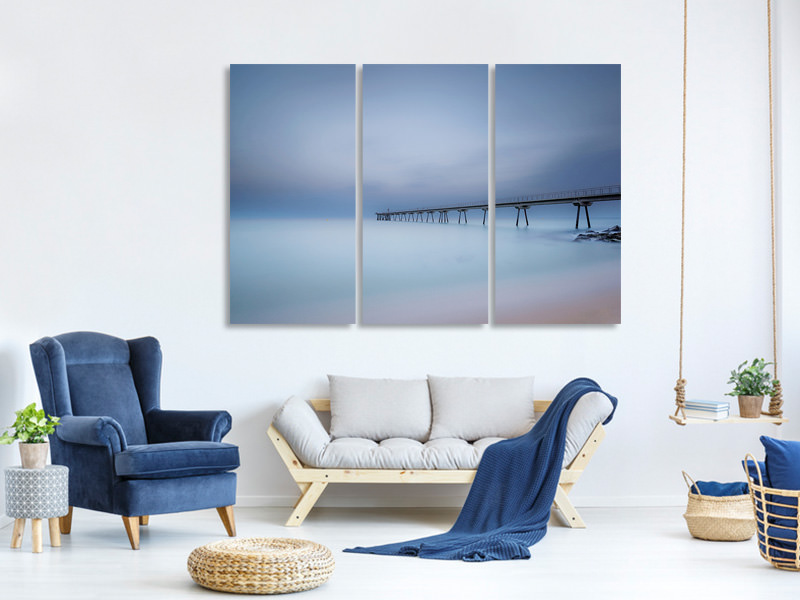 3 Piece Canvas Print Ten Minutes
