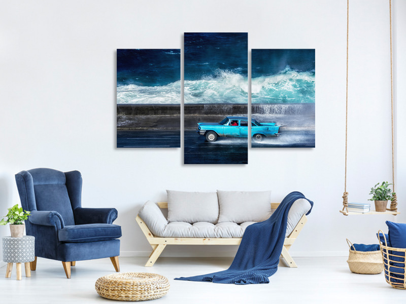 Modern 3 Piece Canvas Print No1