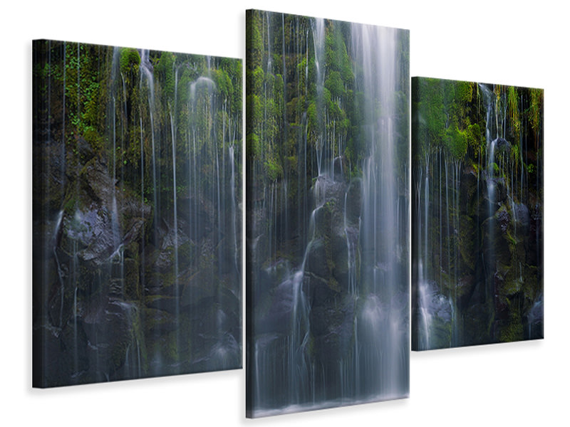 Modern 3 Piece Canvas Print Magical Retreat