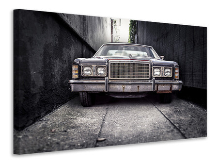 Canvas print Retro car