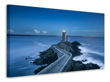Canvas print The way to the lighthouse