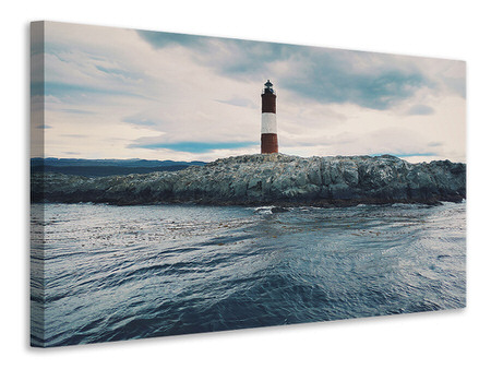 Canvas print The lighthouse by the sea