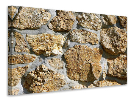 Canvas print XL stones