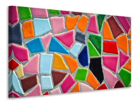 Canvas print Mosaic wall