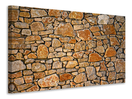 Canvas print Nature stone wall