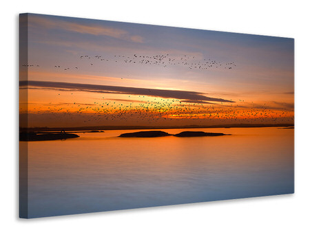 Canvas print By Sunset