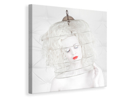 Canvas print Birdcage Love