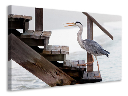 Canvas print With A Firm Step