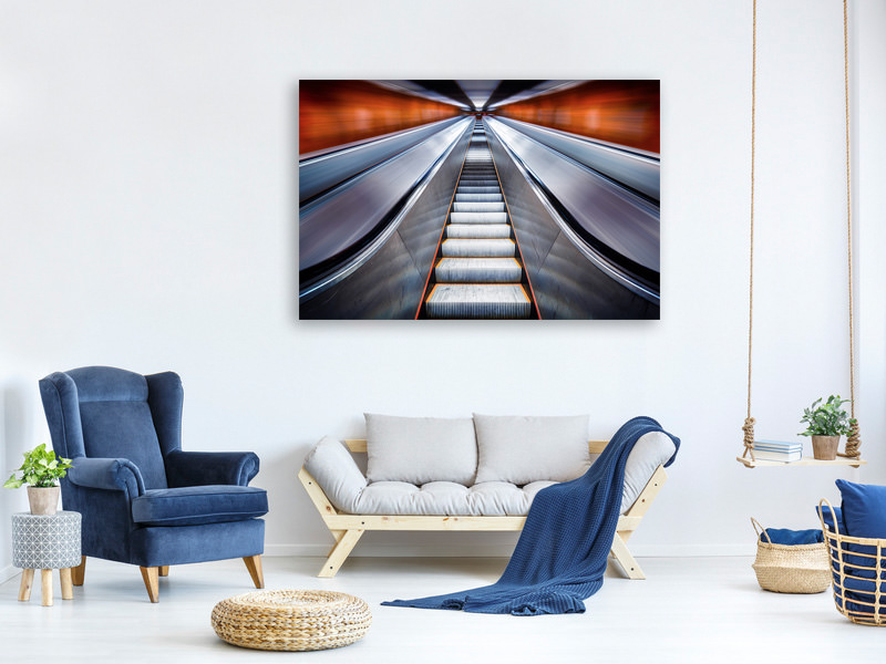 Canvas print Pushing The Limits