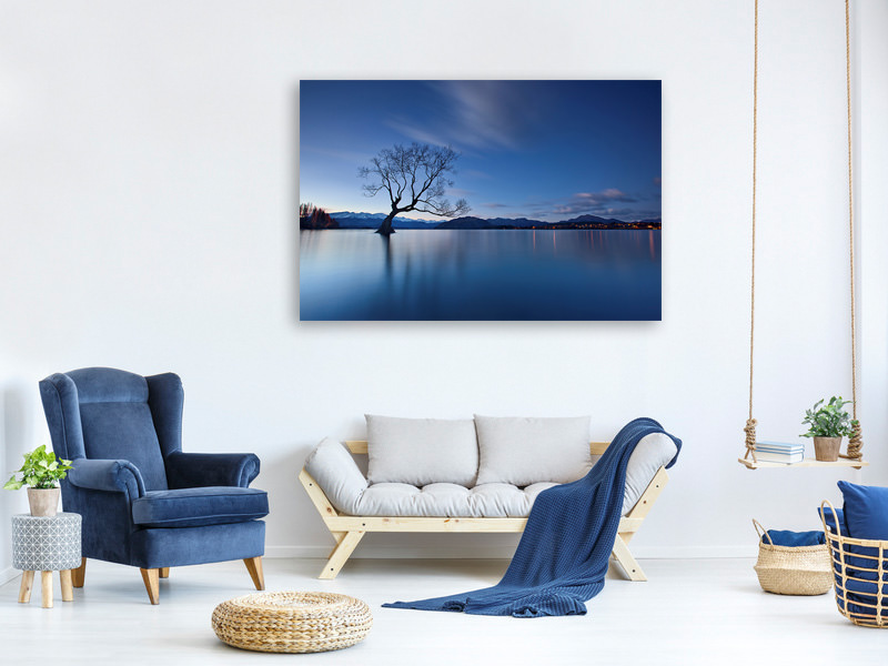 Canvas print Wanaka Twilight