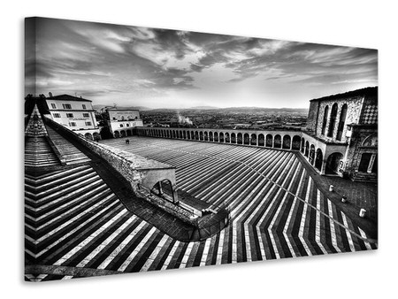 Canvas print Sacred Lines