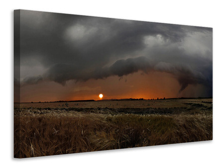 Canvas print Wetterbruecke