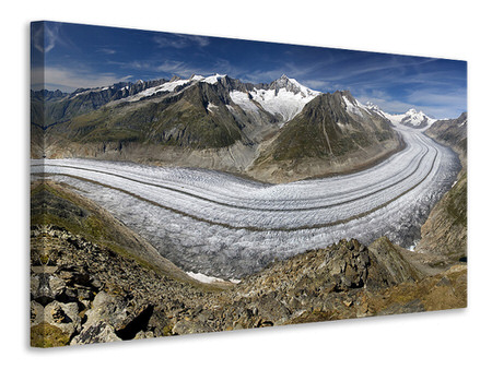 Canvas print Aletschgletscher