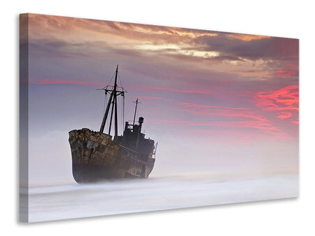 Canvas print The Dark Traveler A