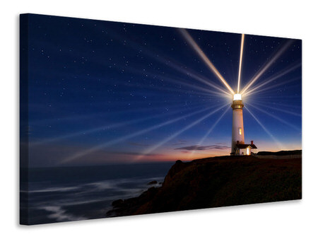 Canvas print Lighting Of The Lens