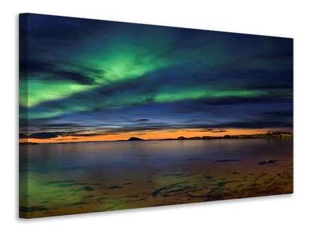 Canvas print Sunset At Andenes