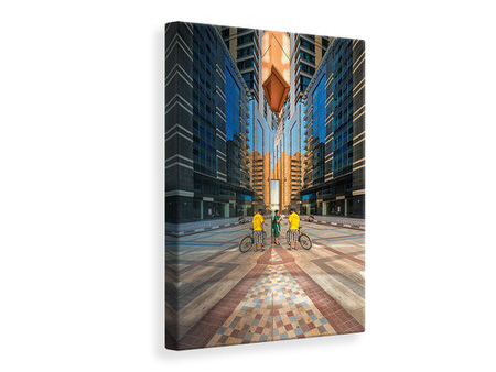 Canvas print Downtown