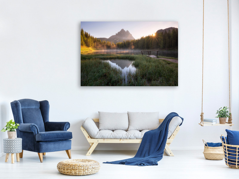 Canvas print Morning Silence II