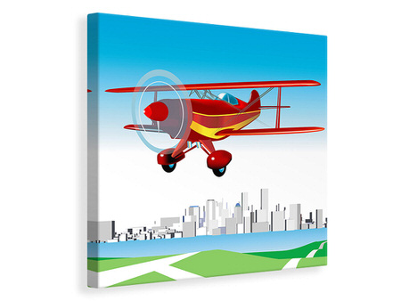Canvas print Flying Aircraft