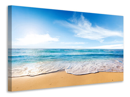 Canvas print Waves In The Sand
