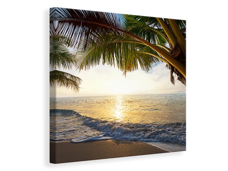 Canvas print Beach View