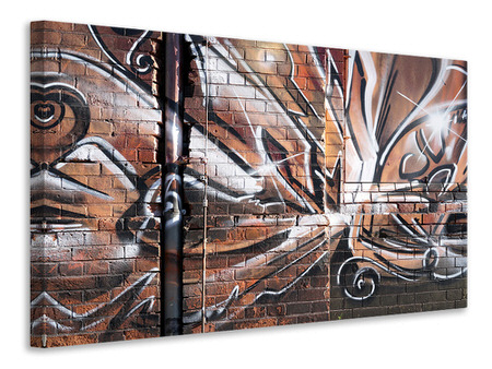 Canvas print Graffiti Wall