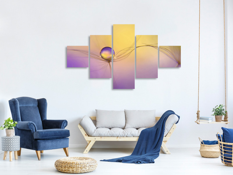 5 Piece Canvas Print In Arms