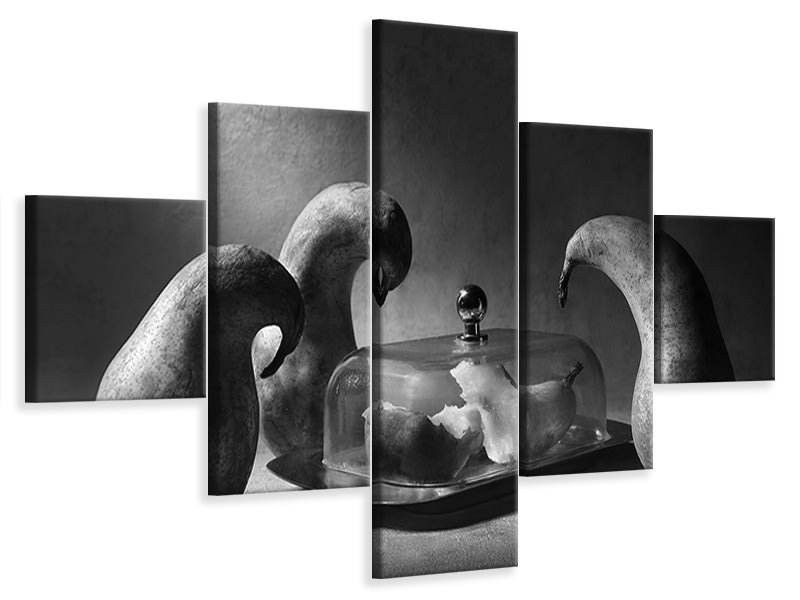 5 Piece Canvas Print The Mausoleum
